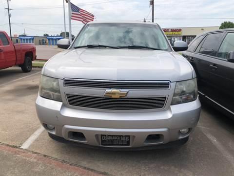 2007 Chevrolet Tahoe for sale at Casablanca SALES-DALLAS in Dallas TX