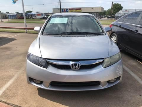 2010 Honda Civic for sale at Casablanca SALES-DALLAS in Dallas TX