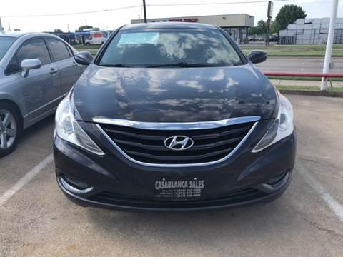 2011 Hyundai Sonata for sale at Casablanca SALES-DALLAS in Dallas TX