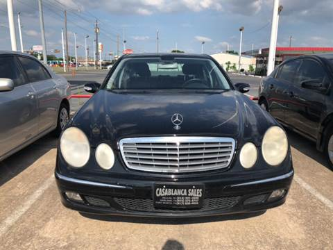 2006 Mercedes-Benz E-Class for sale at Casablanca SALES-DALLAS in Dallas TX
