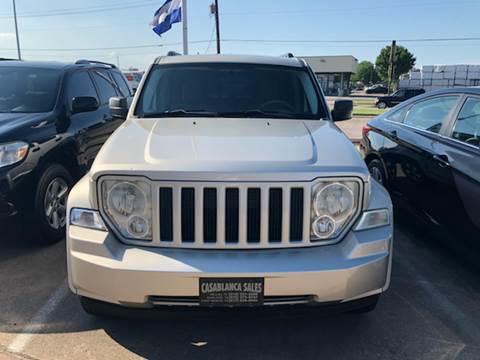 2008 Jeep Liberty for sale at Casablanca SALES-DALLAS in Dallas TX