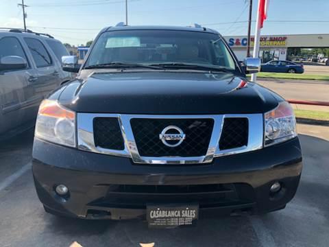 2011 Nissan Armada for sale at Casablanca SALES-DALLAS in Dallas TX