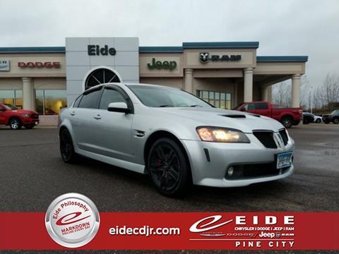 2009 Pontiac G8 for sale in Pine City, MN