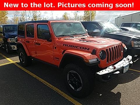 2019 Jeep Wrangler Unlimited for sale in Pine City, MN