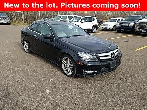 2013 Mercedes-Benz C-Class for sale in Pine City, MN