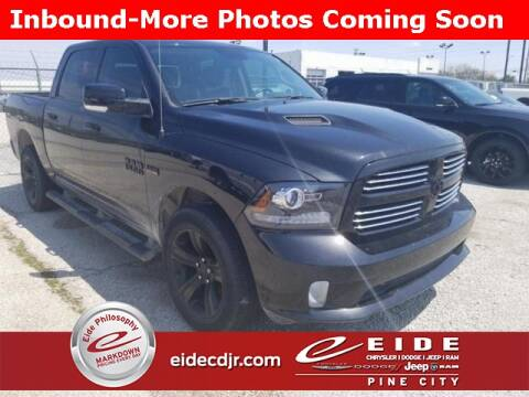 2017 RAM Ram Pickup 1500 Sport for sale at EIDE AUTO CENTER in Pine City MN