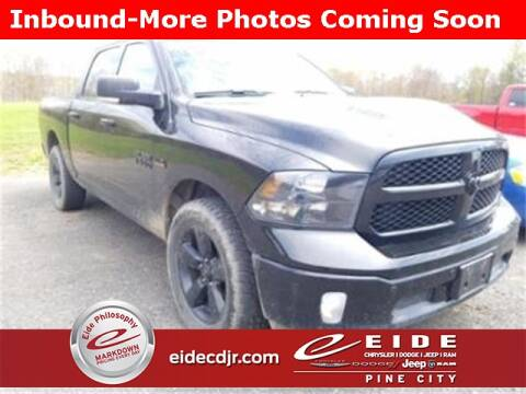2018 RAM Ram Pickup 1500 Big Horn for sale at EIDE AUTO CENTER in Pine City MN