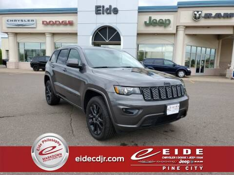2020 Jeep Grand Cherokee Altitude for sale at EIDE AUTO CENTER in Pine City MN