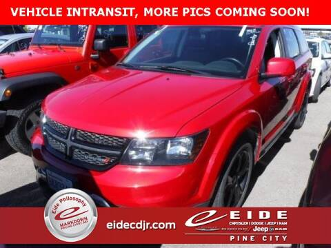 2018 Dodge Journey Crossroad for sale at EIDE AUTO CENTER in Pine City MN