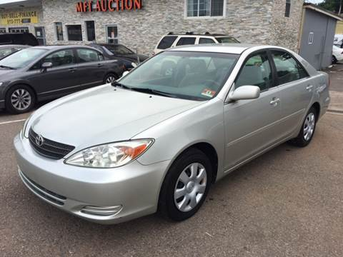 2002 Toyota Camry for sale at MFT Auction in Lodi NJ
