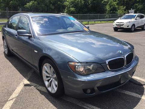 2008 BMW 7 Series for sale at MFT Auction in Lodi NJ