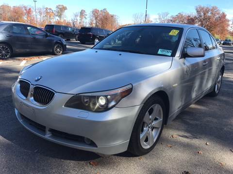 2006 BMW 5 Series for sale at MFT Auction in Lodi NJ