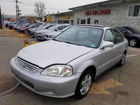 1999 Honda Civic for sale at MFT Auction in Lodi NJ
