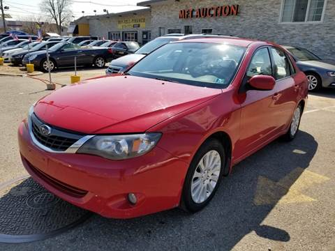 2008 Subaru Impreza for sale at MFT Auction in Lodi NJ