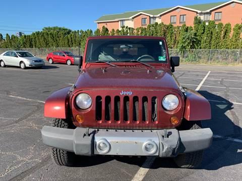 2008 Jeep Wrangler for sale at MFT Auction in Lodi NJ
