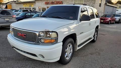 2002 GMC Yukon for sale at MFT Auction in Lodi NJ