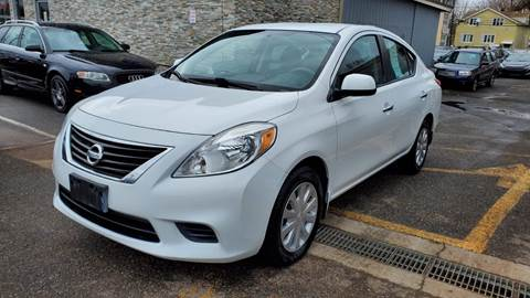 2012 Nissan Versa for sale at MFT Auction in Lodi NJ