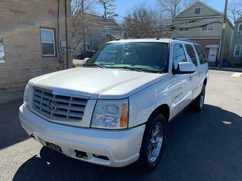 2004 Cadillac Escalade ESV Platinum Edition for sale at MFT Auction in Lodi NJ
