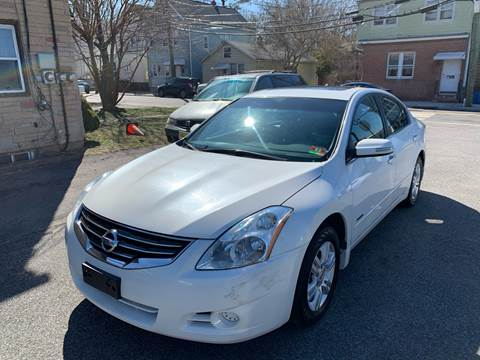 2011 Nissan Altima Hybrid for sale at MFT Auction in Lodi NJ