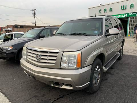 2003 Cadillac Escalade for sale at MFT Auction in Lodi NJ