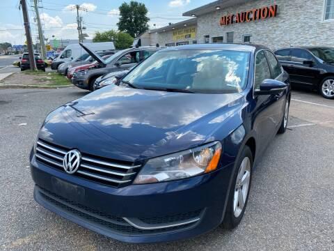 2012 Volkswagen Passat for sale at MFT Auction in Lodi NJ