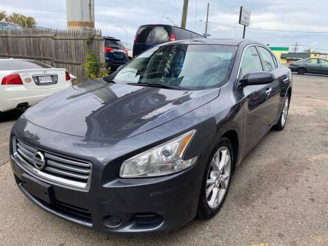 2012 Nissan Maxima for sale at MFT Auction in Lodi NJ