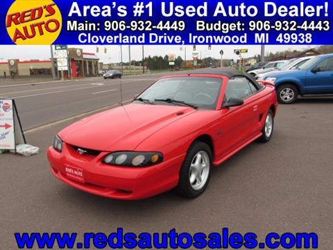 1994 Ford Mustang for sale in Ironwood, MI
