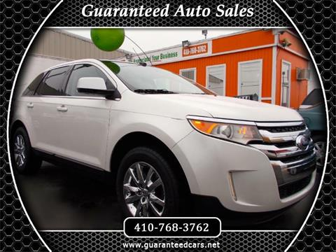 Guaranteed Auto Sales >> Ford Edge For Sale In Glen Burnie Md Guaranteed Auto Sales