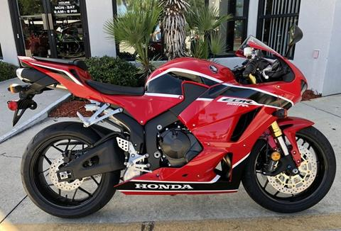 2018 Honda CBR600RR For Sale In Cocoa, FL