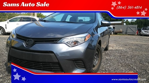 2014 Toyota Corolla for sale in Greenville, SC