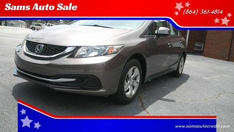 2013 Honda Civic for sale in Greenville, SC