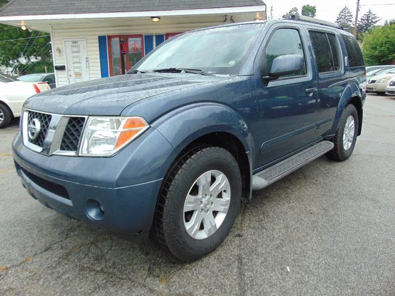 2005 Nissan Pathfinder Le In Fort Wayne In Mid City Motors Llc