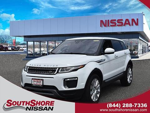 2017 Land Rover Range Rover Evoque for sale in Amityville, NY
