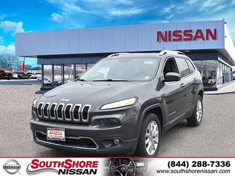 2015 Jeep Cherokee for sale in Amityville, NY