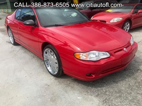 2005 Chevrolet Monte Carlo for sale in Deland, FL