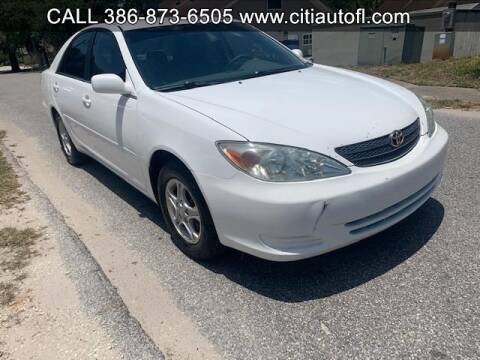 2003 Toyota Camry LE for sale at Citi AutoInc in Deland FL