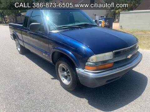 2002 Chevrolet S-10 for sale at Citi AutoInc in Deland FL