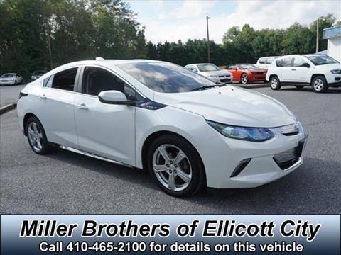 2017 Chevrolet Volt for sale in Ellicott City, MD