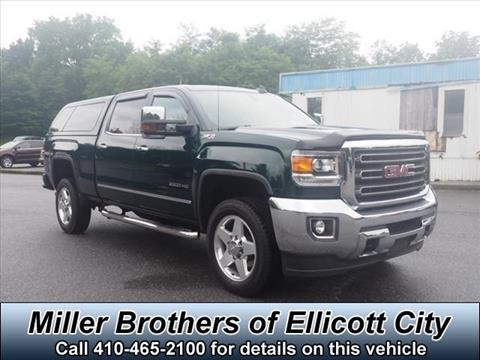 2015 GMC Sierra 2500HD for sale in Ellicott City, MD