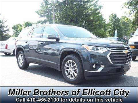2019 Chevrolet Traverse for sale in Ellicott City, MD