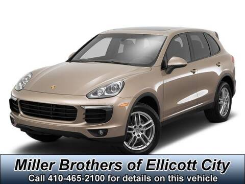 2016 Porsche Cayenne for sale at Miller Brothers Chevrolet Cadillac in Ellicott City MD