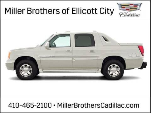 2004 Cadillac Escalade EXT for sale at Miller Brothers Chevrolet Cadillac in Ellicott City MD
