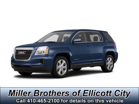2017 GMC Terrain SLE-2 for sale at Miller Brothers Chevrolet Cadillac in Ellicott City MD