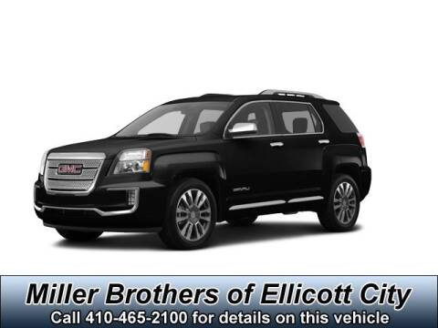 2017 GMC Terrain Denali for sale at Miller Brothers Chevrolet Cadillac in Ellicott City MD