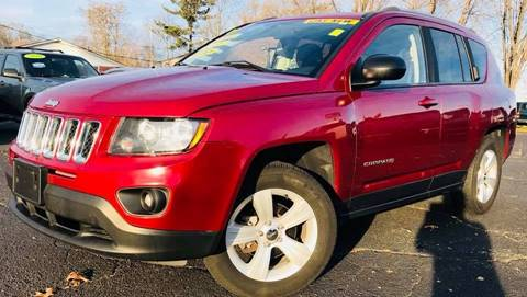 2014 Jeep Compass for sale at Raj Motors Sales in Greenville TX