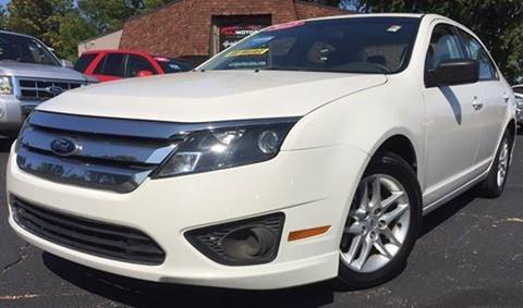 2012 Ford Fusion for sale at Raj Motors Sales in Greenville TX