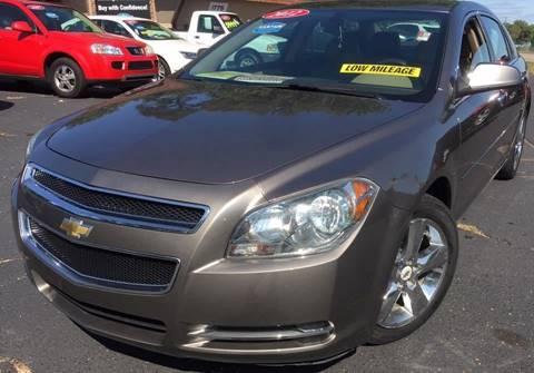 2012 Chevrolet Malibu for sale at Raj Motors Sales in Greenville TX