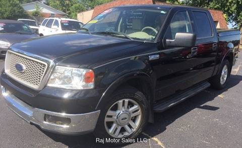 2004 Ford F-150 for sale at Raj Motors Sales in Greenville TX