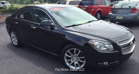 2011 Chevrolet Malibu for sale at Raj Motors Sales in Greenville TX