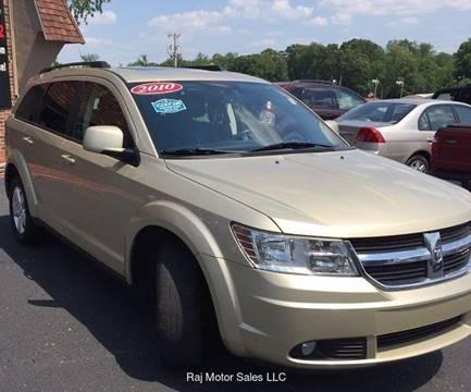 2010 Dodge Journey for sale at Raj Motors Sales in Greenville TX